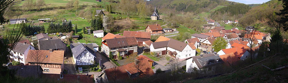 Frebershausen Dorf Panorama 007
